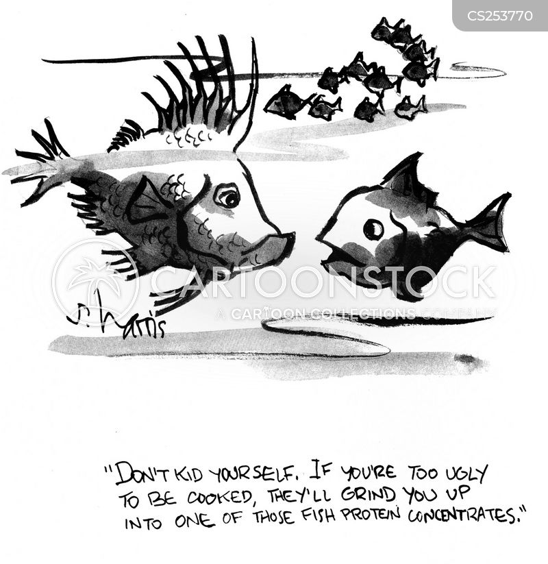kidding yourself cartoon