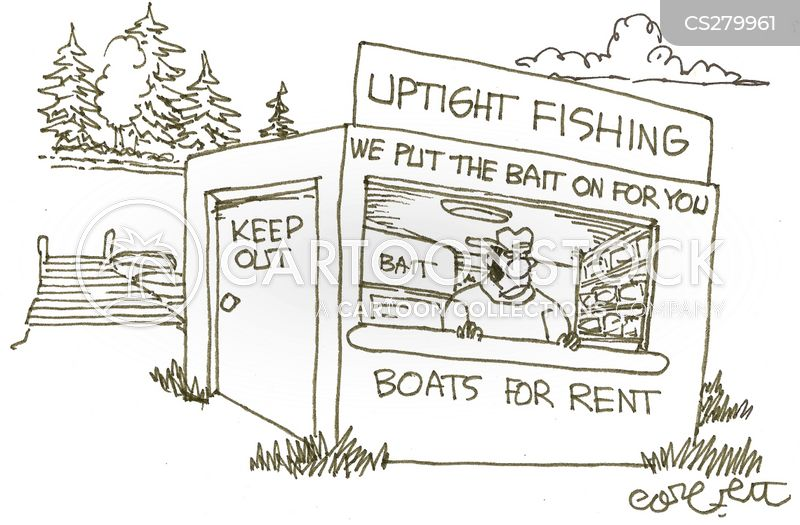 bait shops cartoon