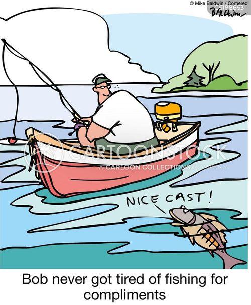 gone fishing cartoon