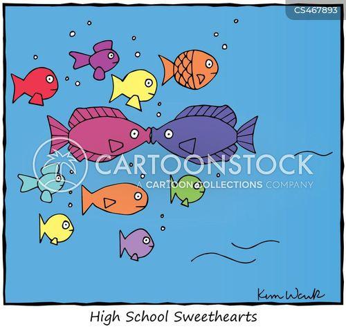 childhood sweethearts cartoon