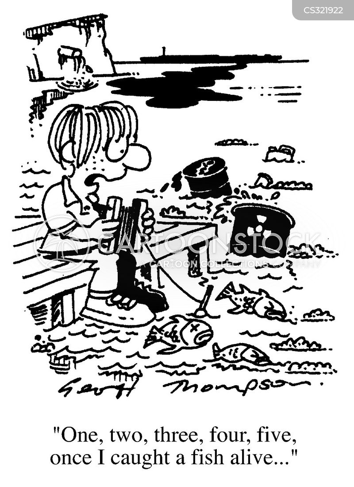 ecological disaster cartoon