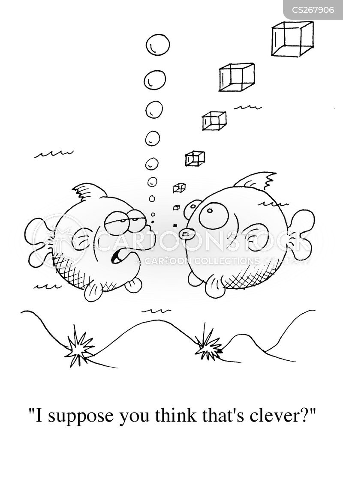 bubbling cartoon