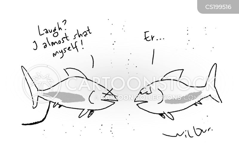 gold fishes cartoon