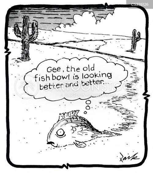 dryness cartoon