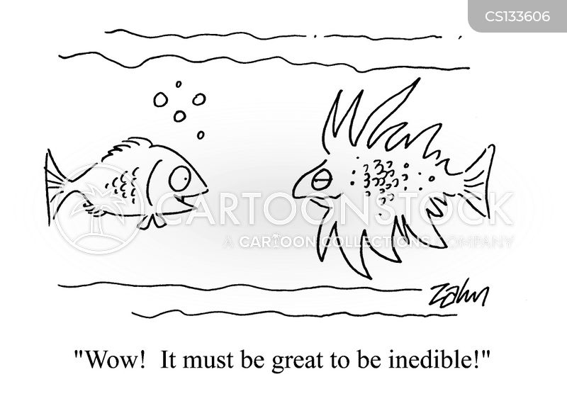 inedible cartoon