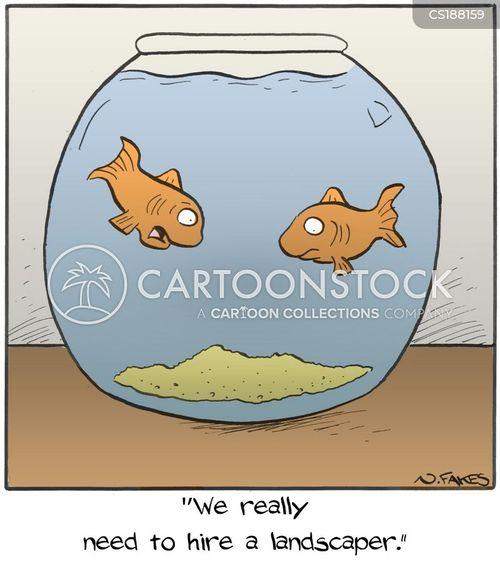 landscaper cartoon