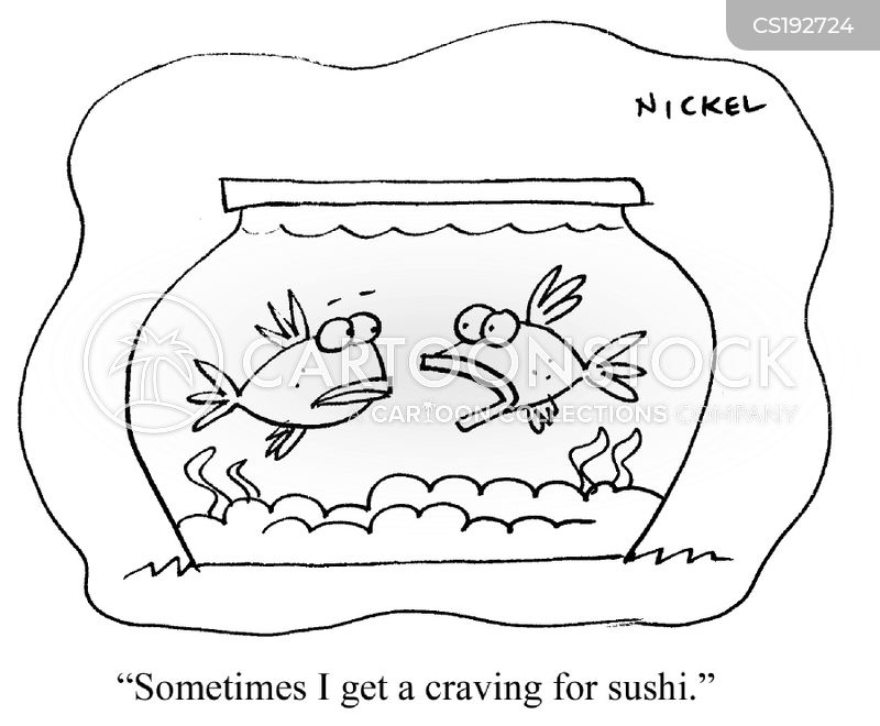 food craving cartoon