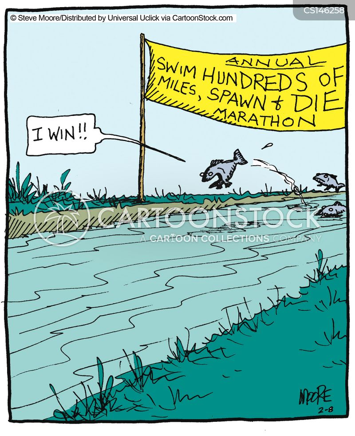spawning cartoon
