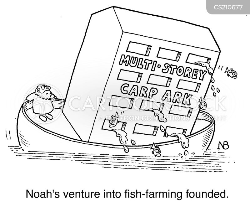 Fish-farming Cartoons and Comics - funny pictures from CartoonStock