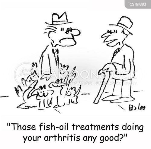 fish oil cartoon