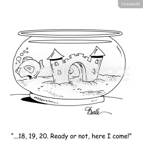 hide-and-seek cartoon