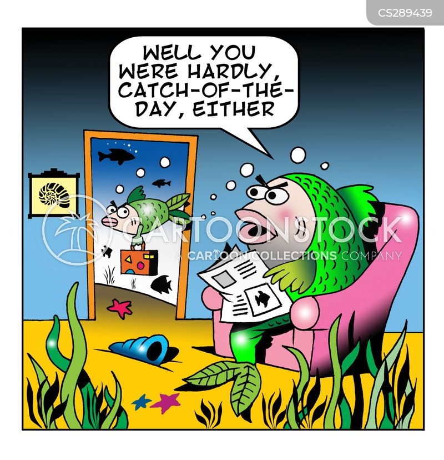 plenty more fish in the sea cartoon