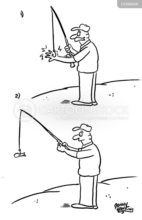 fishing lures cartoon