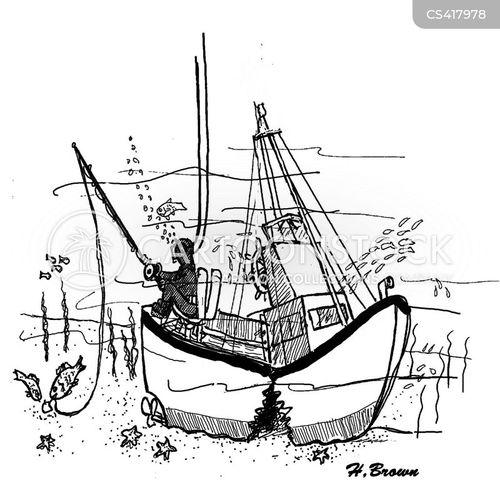 ship wreck cartoon