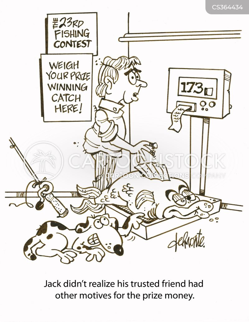 prize money cartoon