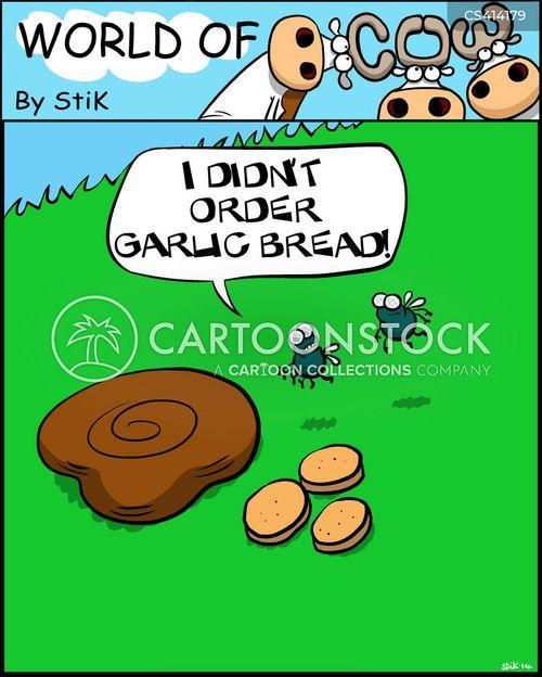 cowpat cartoon
