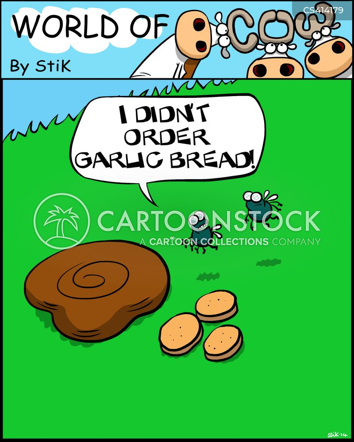 cow poo cartoon