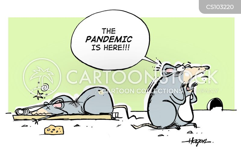 influenza cartoon