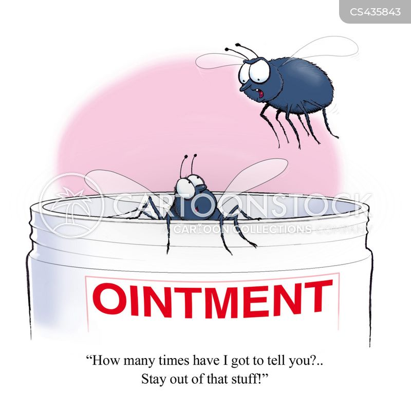 ointments cartoon
