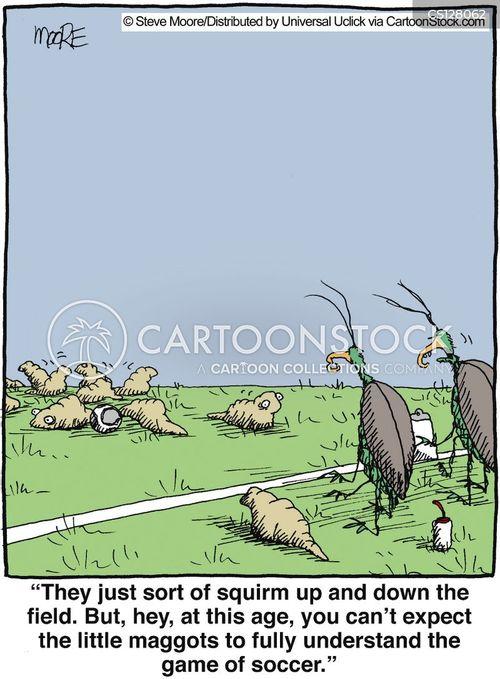 maggot cartoon