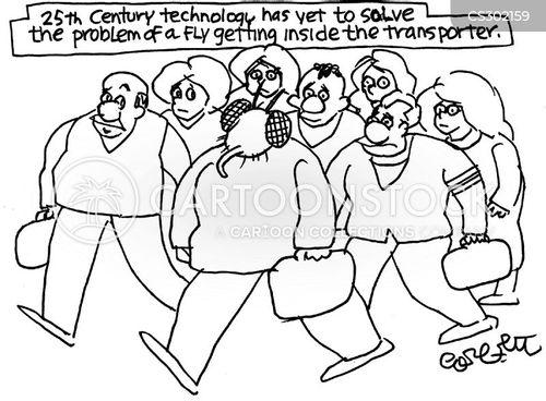 transporter cartoon