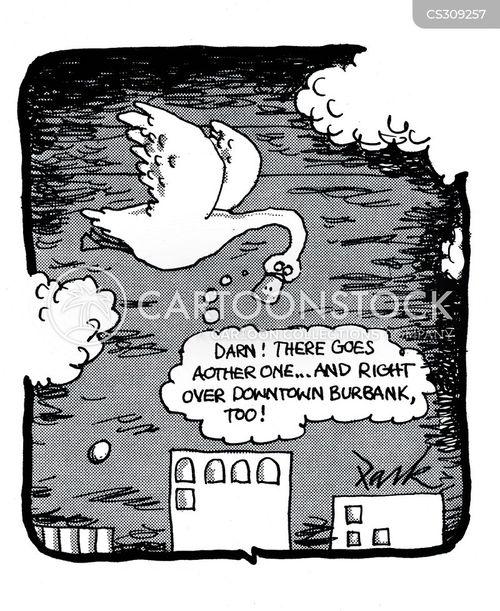down town cartoon
