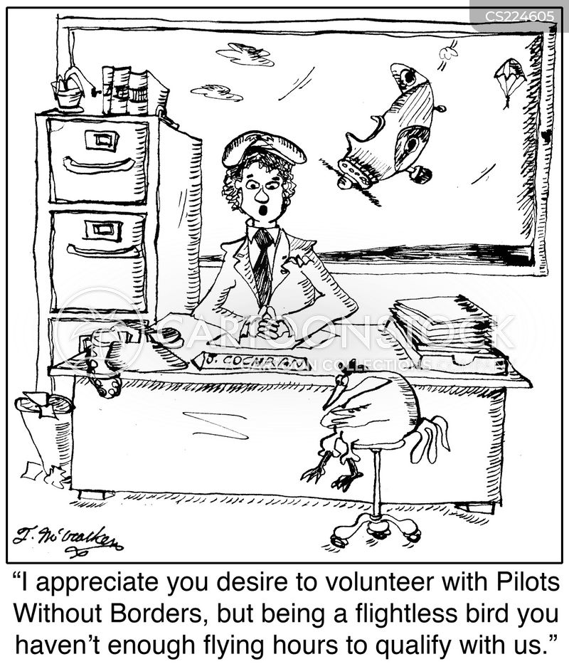 pilots without borders cartoon