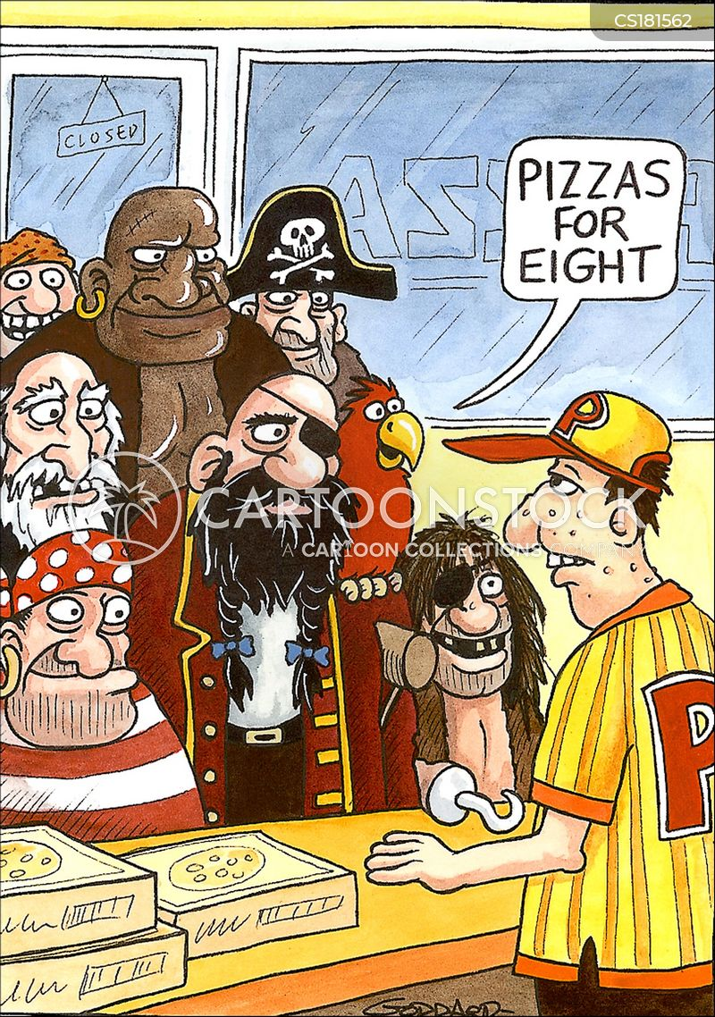 fast food restaurant cartoon