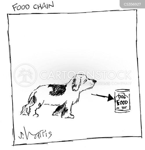 dogs dinner cartoon