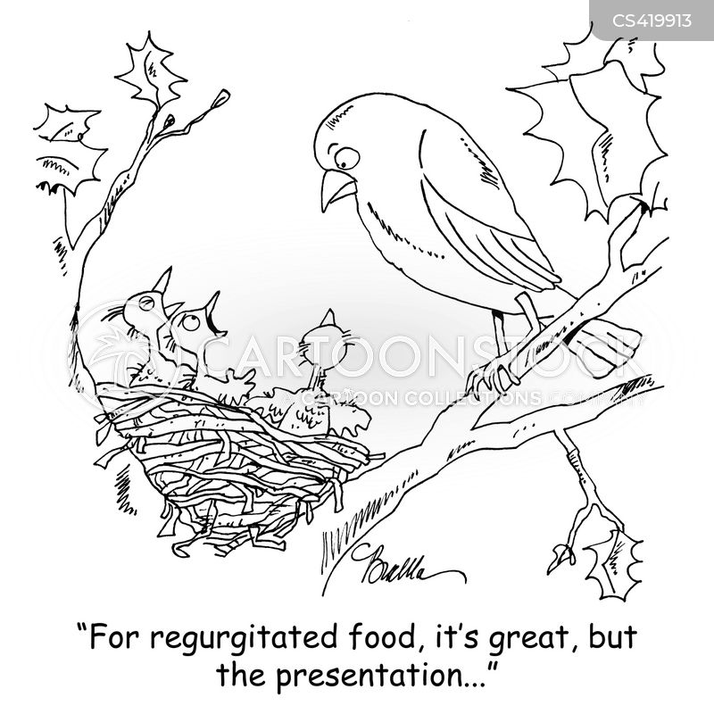 nestling cartoon