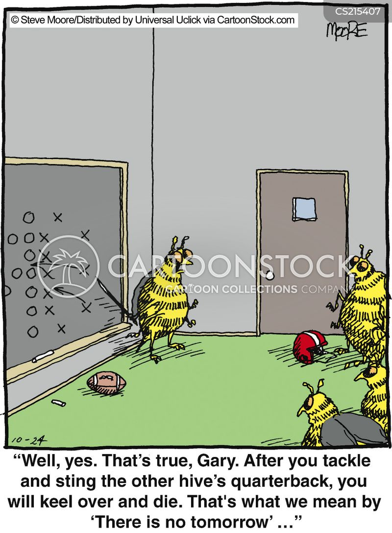 wasps cartoon