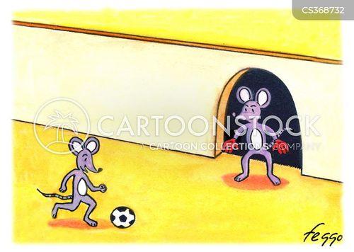 football referees cartoon