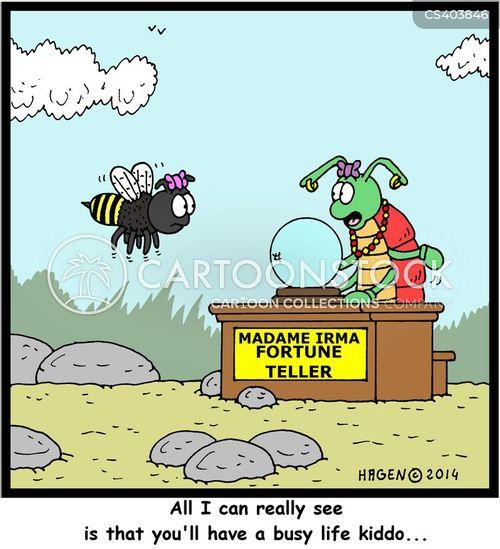 busy bees cartoon