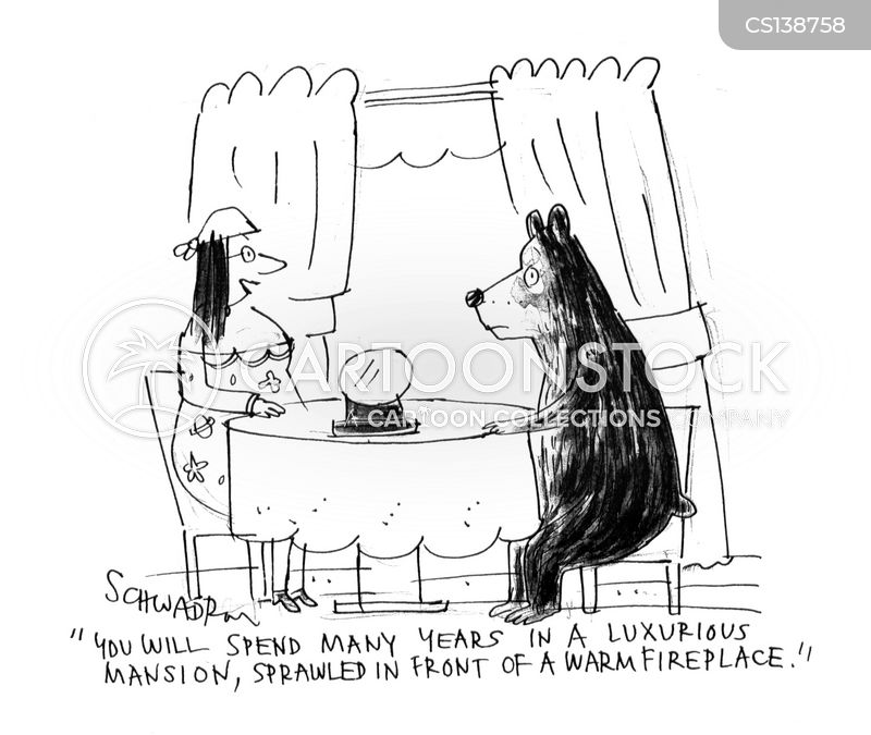 bear skin cartoon