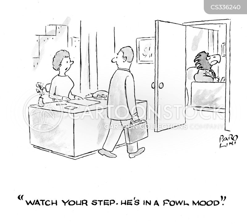 foul moods cartoon