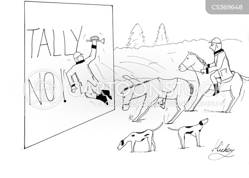 foxhunting cartoon