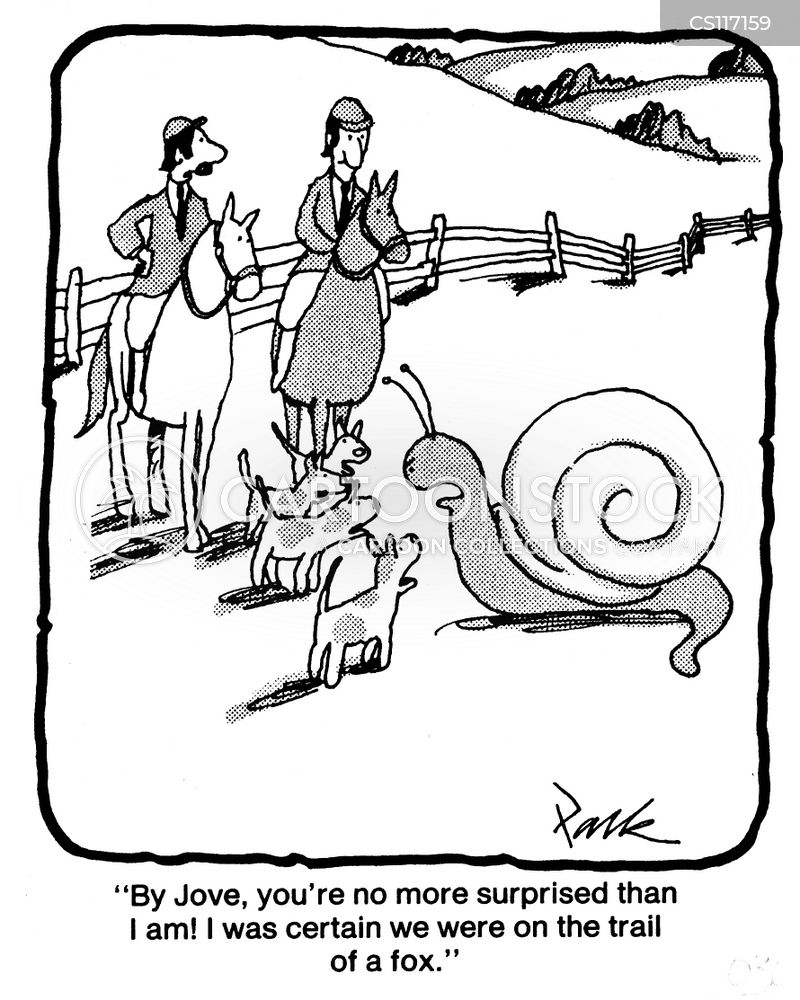 snail trail cartoon