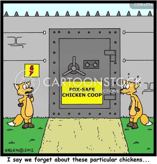 security measure cartoon