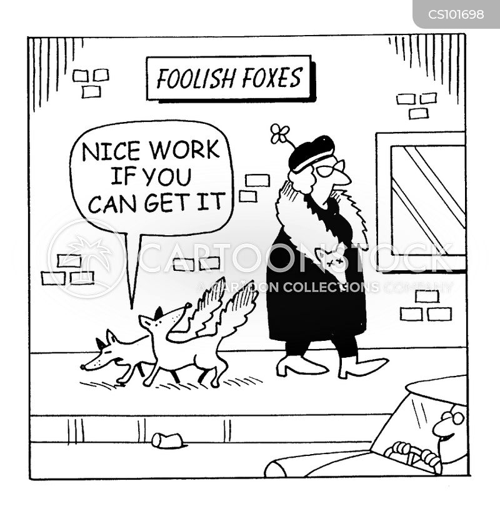 easy work cartoon