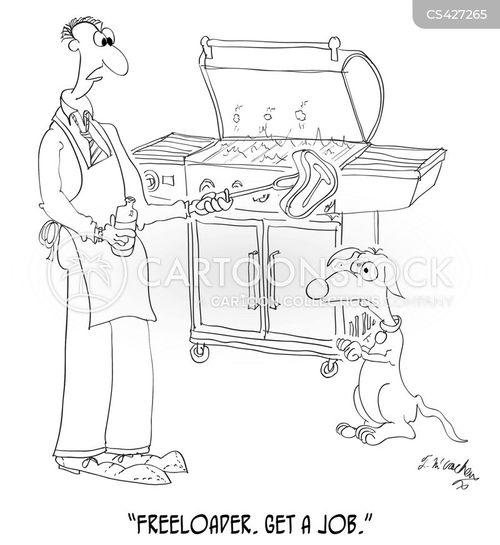 free loaders cartoon