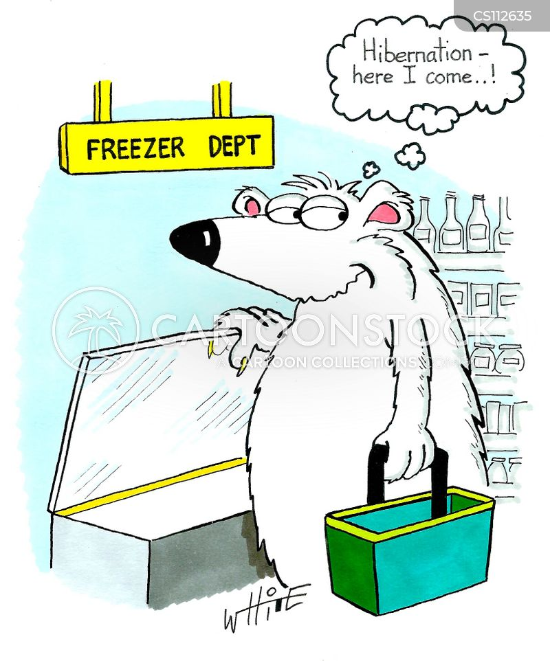 fridge-freezers cartoon