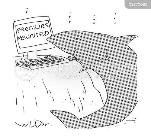 frenzy cartoon