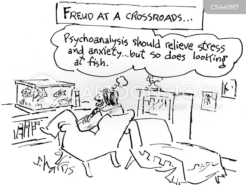 stress relievers cartoon