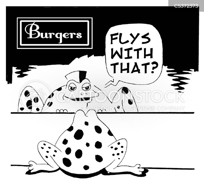 burger bar cartoon