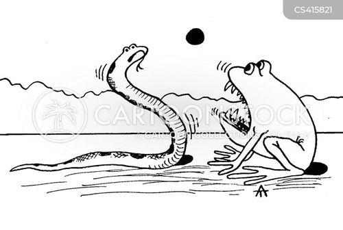 survival instinct cartoon