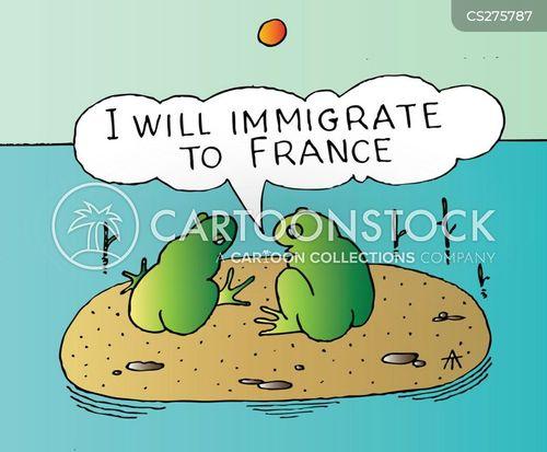 frog legs cartoon