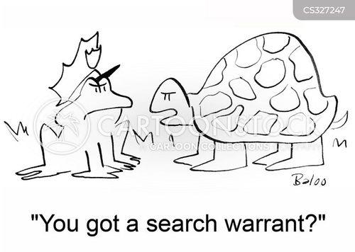 warrants cartoon