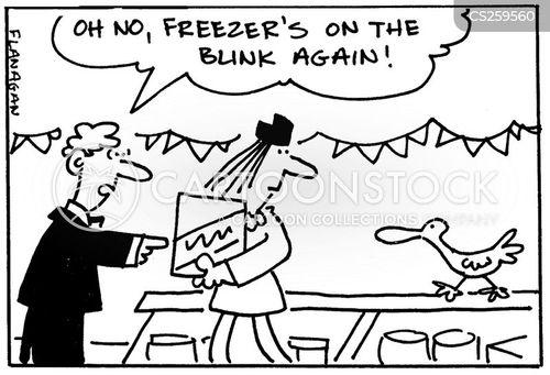 defrosting cartoon