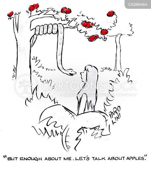 forbidden fruits cartoon