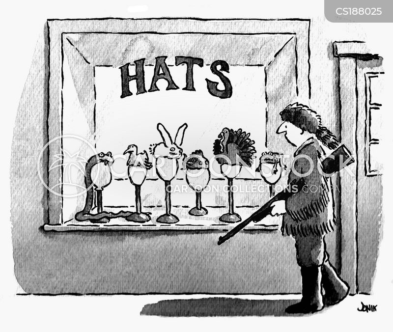 hat making cartoon